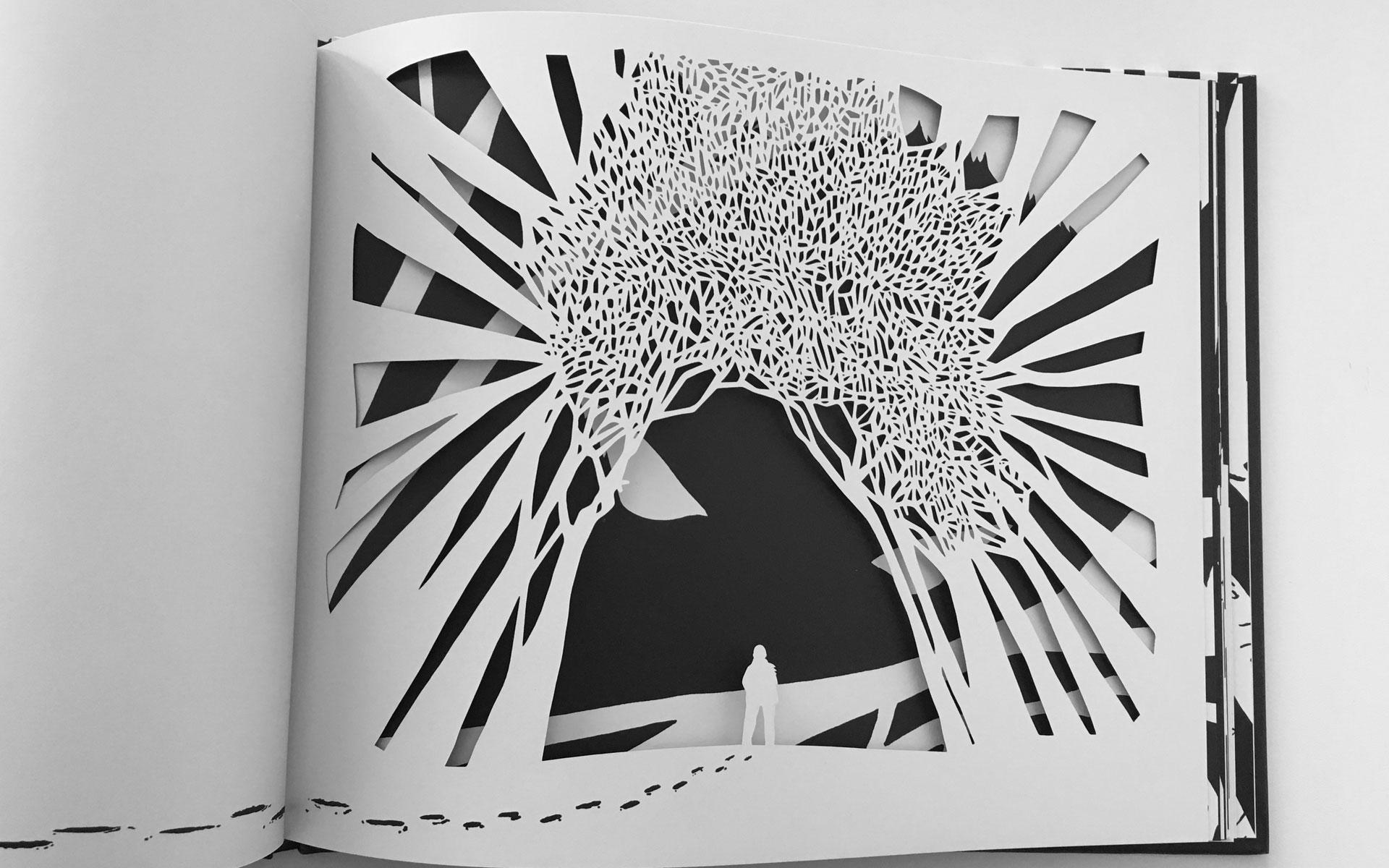 Rubrica albo illustrato Loup Noir