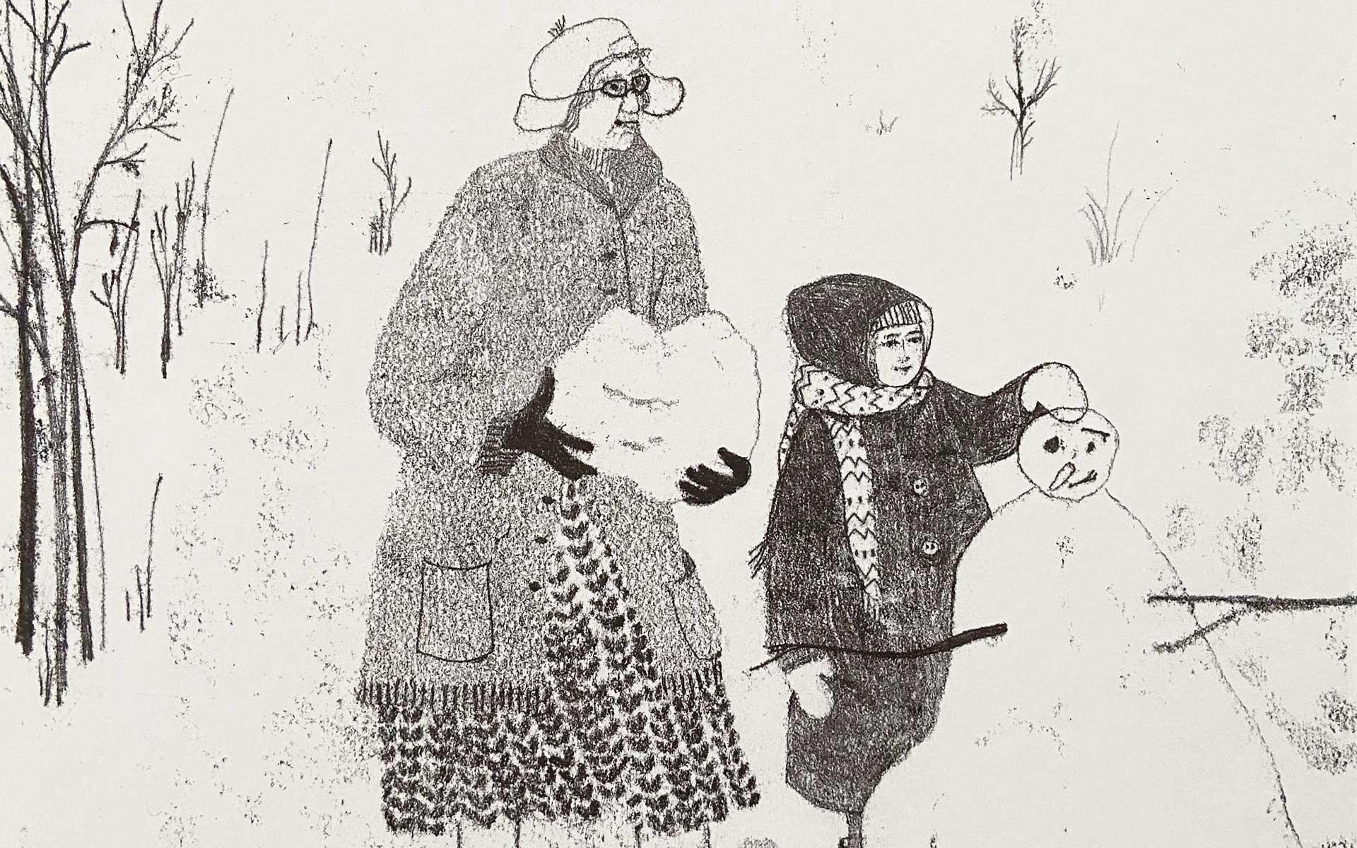 Rubrica albo illustrato La prima neve